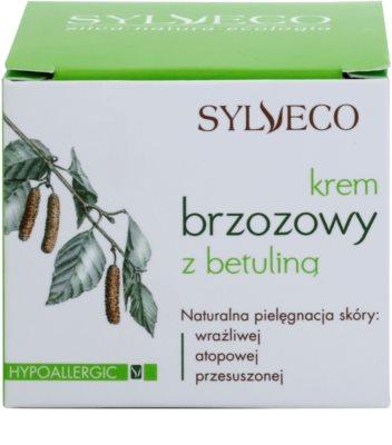 Sylveco Face Care výživný a hydratační krém pro citlivou a intolerantní pleť 3