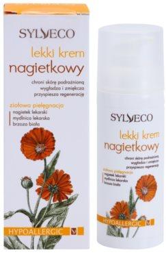 Sylveco Face Care creme protetor para pele mista e oleosa 2