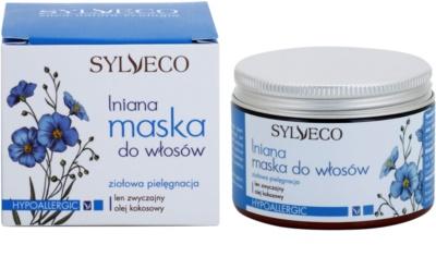 Sylveco Hair Care máscara capilar para o cabelo seco e frágil 2