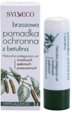 Sylveco Lip Care ajakvédő balzsam bambusszal 2