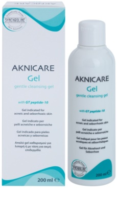 Synchroline Aknicare gel de limpeza para pele com acne ou dermatite seborreica 1