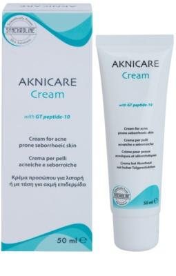 Synchroline Aknicare creme para pele com acne e dermatite seborreica 1