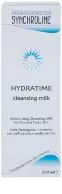 Synchroline Hydratime leite de limpeza hidratante para pele seca a muito seca 2