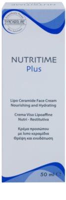 Synchroline Nutritime Plus krem odżywczo-nawilżający z ceramidami 2