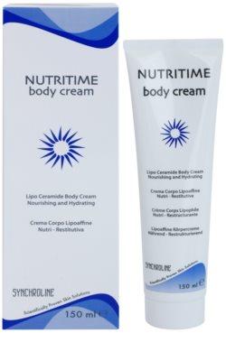 Synchroline Nutritime крем для тіла для живлення та зволоження 1