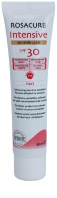 Synchroline Rosacure Intensive тонуюча емульсія для чутливої шкіри зі схильністю до почервоніння SPF 30
