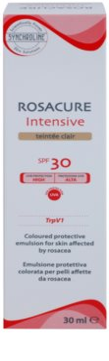 Synchroline Rosacure Intensive тонуюча емульсія для чутливої шкіри зі схильністю до почервоніння SPF 30 2