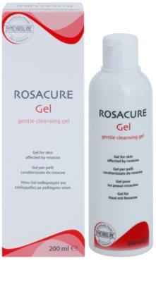 Synchroline Rosacure лек почистващ гел за чувствителна кожа със склонност към почервеняване 1