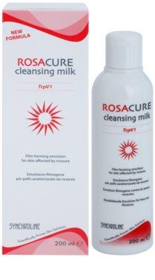 Synchroline Rosacure leite de limpeza para a pele sensível com tendência a aparecer com vermelhidão 1