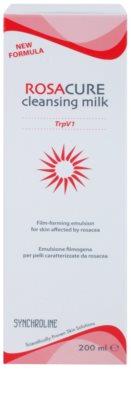 Synchroline Rosacure leite de limpeza para a pele sensível com tendência a aparecer com vermelhidão 2