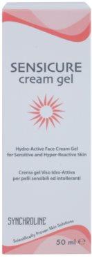 Synchroline Sensicure hidratáló géles krém az érzékeny és intoleráns bőrre 2