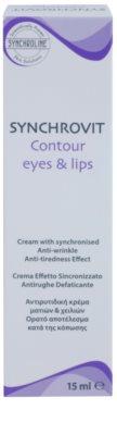 Synchroline Synchrovit verjüngende Creme für die Konturen von Lippen und Augen 2