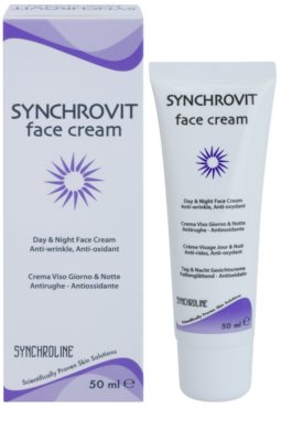 Synchroline Synchrovit denný a nočný krém pre zrelú pleť 1