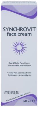 Synchroline Synchrovit crema de zi si de noapte pentru ten matur 2