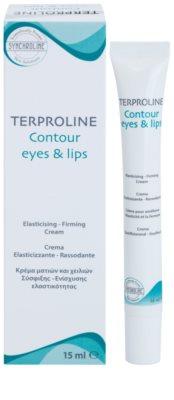 Synchroline Terproline creme de contorno para olhos e lábios 1