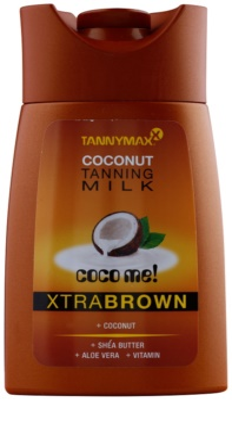 Tannymaxx Coco Me! XtraBrown Bräunungsmilch für Solariumaufenthalte