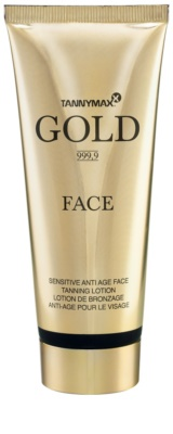 Tannymaxx Gold 999,9 крем за лице за ускоряване на тена