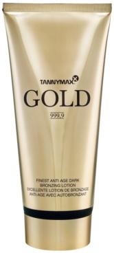 Tannymaxx Gold 999,9 crema bronceadora para solárium