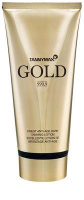 Tannymaxx Gold 999,9 crema hidratante con color de bronceado gradual