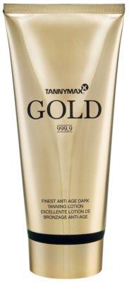 Tannymaxx Gold 999,9 tonisierende hydratierende Creme für allmähliche Bräunung