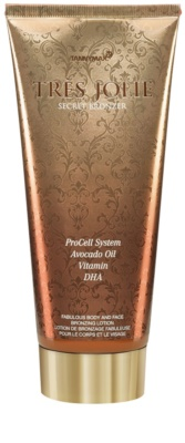 Tannymaxx Trés Jolie opalovací krém do solária s bronzerem