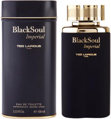 Ted Lapidus Black Soul Imperial Eau de Toilette pentru barbati