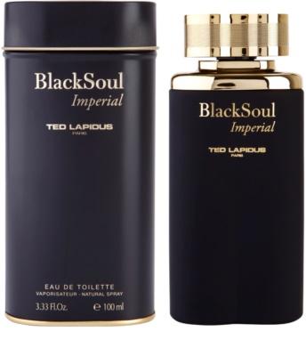 Ted Lapidus Black Soul Imperial toaletná voda pre mužov