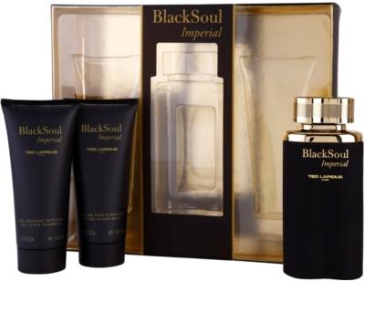 Ted Lapidus Black Soul Imperial set cadou