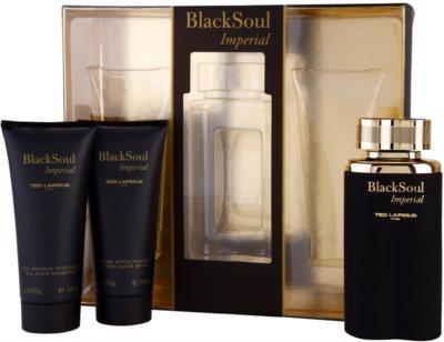 Ted Lapidus Black Soul Imperial подарунковий набір