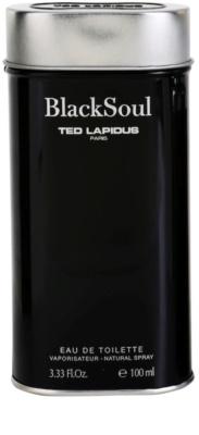 Ted Lapidus Black Soul Eau de Toilette pentru barbati 4