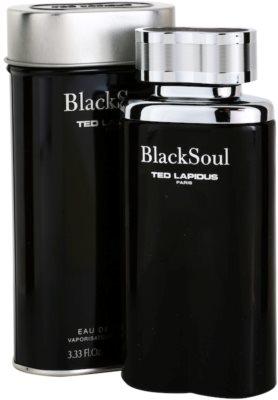 Ted Lapidus Black Soul Eau de Toilette pentru barbati 1