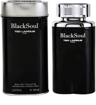 Ted Lapidus Black Soul Eau de Toilette para homens