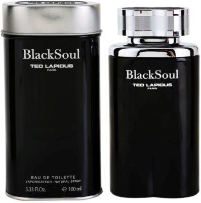 Ted Lapidus Black Soul woda toaletowa dla mężczyzn