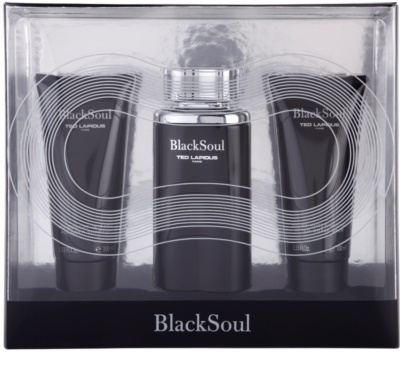 Ted Lapidus Black Soul set cadou 1