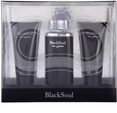 Ted Lapidus Black Soul dárková sada 1