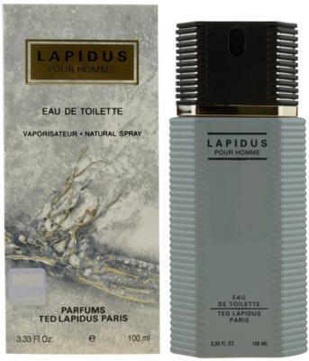 Ted Lapidus Lapidus Pour Homme eau de toilette para hombre