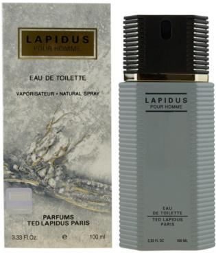 Ted Lapidus Lapidus Pour Homme туалетна вода для чоловіків
