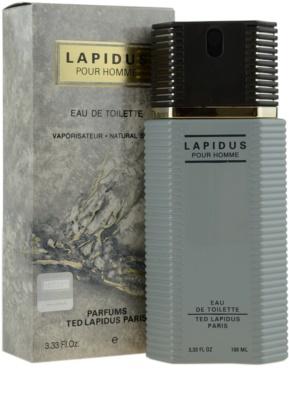 Ted Lapidus Lapidus Pour Homme Eau de Toilette pentru barbati 1