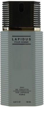 Ted Lapidus Lapidus Pour Homme eau de toilette para hombre 2