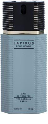 Ted Lapidus Lapidus Pour Homme toaletní voda tester pro muže