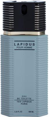 Ted Lapidus Lapidus Pour Homme тоалетна вода тестер за мъже