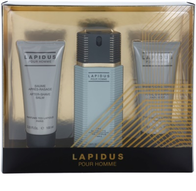Ted Lapidus Lapidus Pour Homme coffret presente
