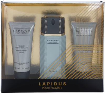 Ted Lapidus Lapidus Pour Homme подаръчен комплект