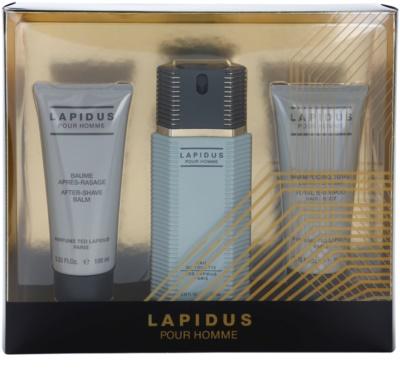 Ted Lapidus Lapidus Pour Homme подарунковий набір