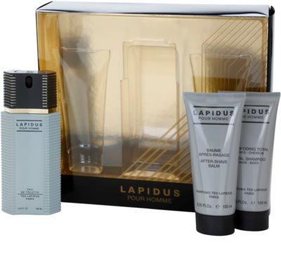 Ted Lapidus Lapidus Pour Homme подаръчен комплект 1
