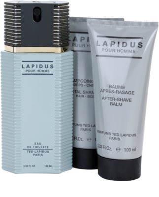 Ted Lapidus Lapidus Pour Homme zestaw upominkowy 2