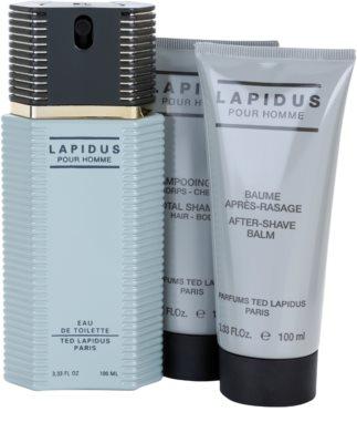 Ted Lapidus Lapidus Pour Homme подаръчен комплект 2