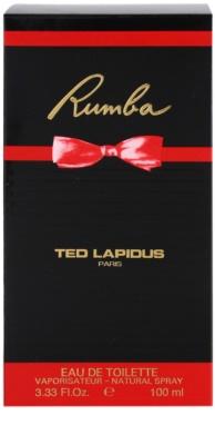 Ted Lapidus Rumba Eau de Toilette für Damen 4