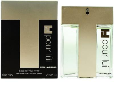 Ted Lapidus TL Pour Lui туалетна вода для чоловіків 1