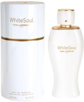 Ted Lapidus White Soul woda perfumowana dla kobiet
